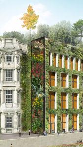 grüne Fassade Humboldt Forum