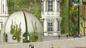 botanischer Pavillon Humboldt Forum